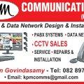 KPM COMMUNICATIONS. (DURBAN)